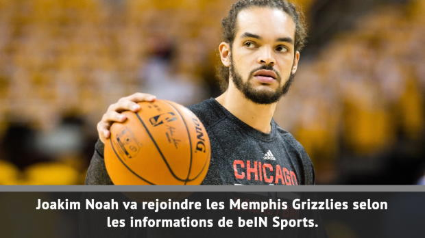 Basket : Grizzlies - Noah de retour en NBA