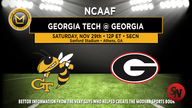 Georgia Tech Yellow Jackets @ Georgia Bulldogs