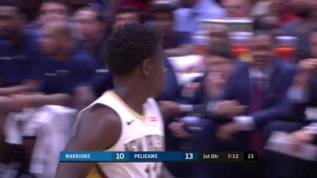 WSC: Jrue Holiday (34 points) Highlights vs. Golden State Warriors