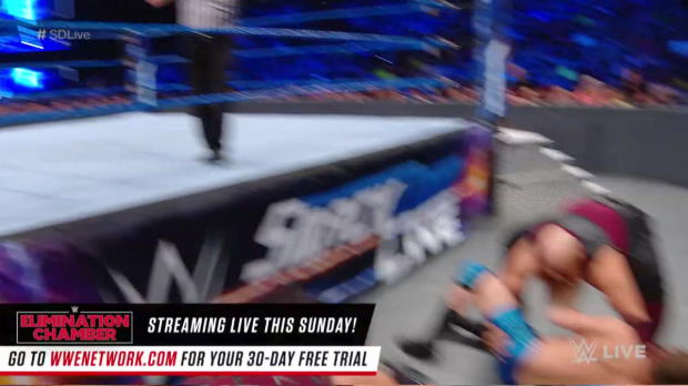 The Bludgeon Brothers vs. local competitors: SmackDown LIVE, Feb. 20, 2018