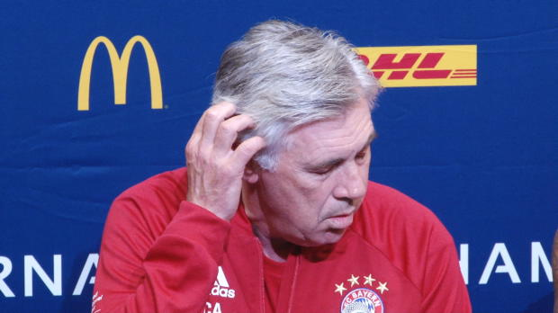 "Ancelotti: Transferirrsinn? ""Nichts Besonderes"""