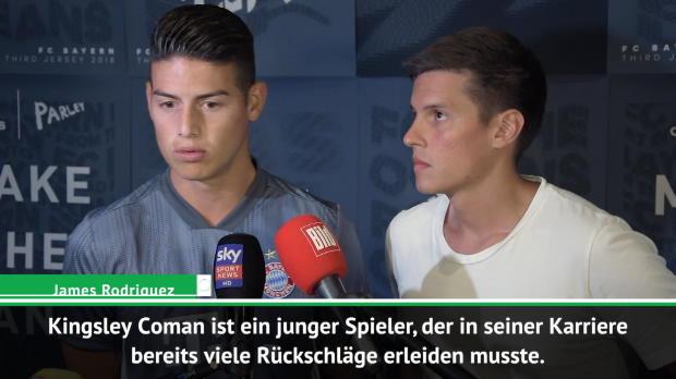 James über Pechvogel Coman und Niko Kovac
