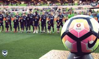 Melbourne Victory and Perth Glory played out a 1-1 draw in front of 16,017 fans at AAMI Park.