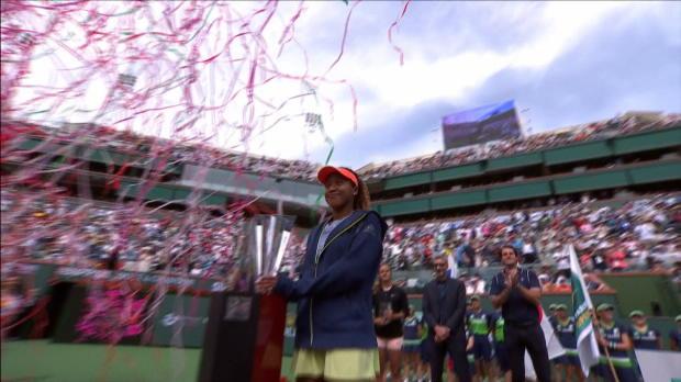 Tennis : Indian Wells - Osaka s'offre son premier titre
