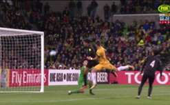 Tomi Juric fired Australia ahead with a clinical header with just over 20 minutes remaining against Thailand.