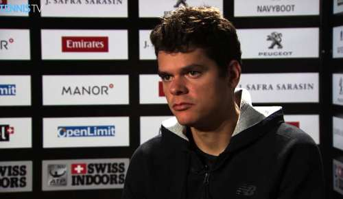Raonic Interview: ATP Basel Preview