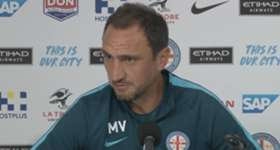 City coach Michael Valkanis says his players need to continue to perform if they want to be selected for the Caltex Socceroos.