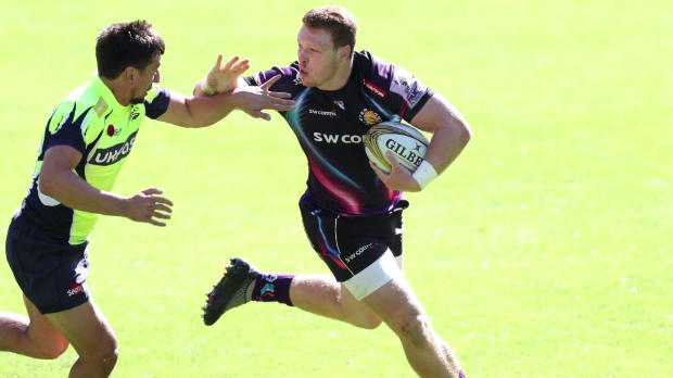 Aviva Premiership - Exeter Chiefs' Sam Simmonds on winning the Singha 7s Player of the Final