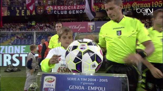 Serie A : Genoa 1-1 Empoli