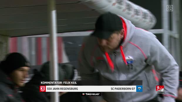 2. Bundesliga: SSV Jahn Regensburg - SC Paderborn | DAZN Highlights