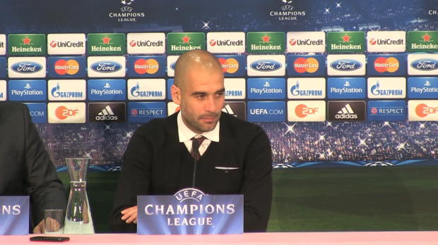 LDC - Quarts, Bayern Munich, Guardiola : 'United a parfaitement d�fendu'