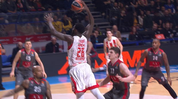 Basket : Euroligue (22e j.) - La grosse performance offensive de Lessort contre Milan