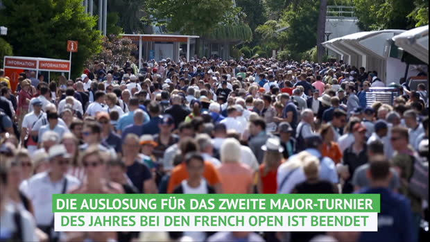 French Open: Losglück für Nadal und Federer