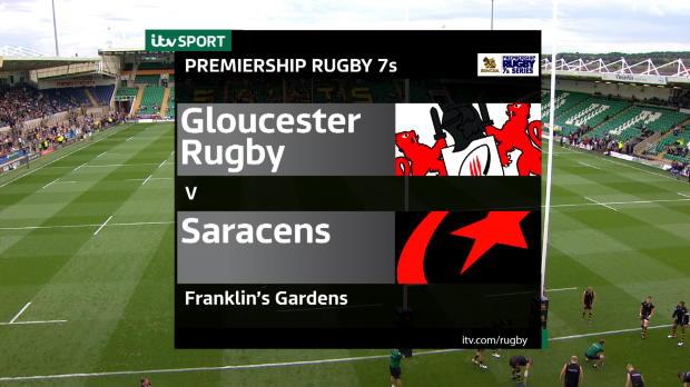 Aviva Premiership - Match Highlights - Gloucester Rugby 7s v Saracens 7s