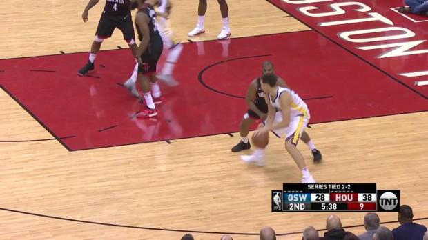 WSC;: Klay Thompson 23 points vs the Rockets