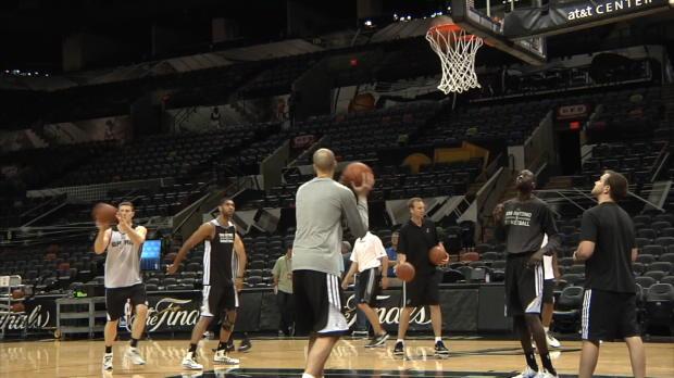 Parker et les Spurs pr�ts au combat