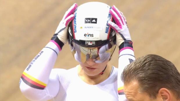 Bahnrad: Vogel wieder Sprint-Weltmeisterin
