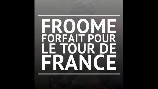 Tour de France - Chris Froome est forfait!