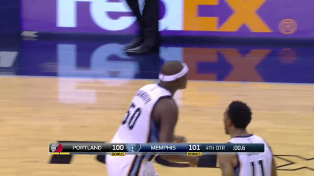 Play of the Day: Zach Randolph