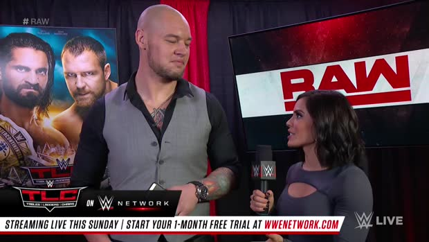 Baron Corbin shrugs off the Braun Strowman rumors: Raw, Dec. 10, 2018