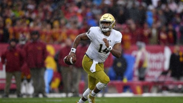 Jeremiah: DeShone Kizer looks like a potential first overall pick