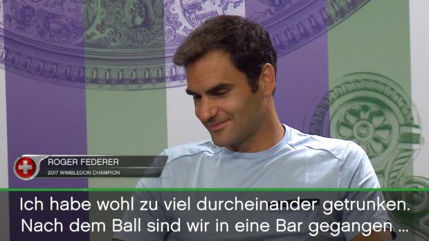 Wimbledon: Federers Kopf dröhnt nach Siegesfeier
