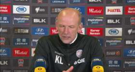 Glory boss Kenny Lowe said his side's missed chances in the first half cost them victory in Sunday's 2-2 draw with the Jets.