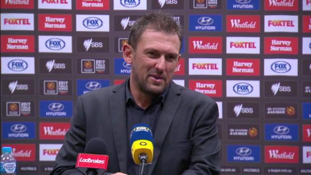 Western Sydney Wanderers EF press conference
