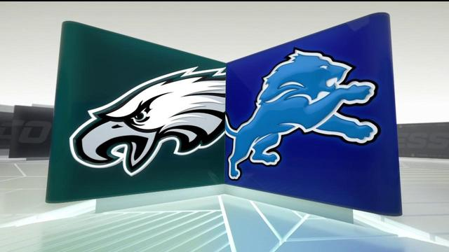 Week 12: Eagles vs. Lions highlights