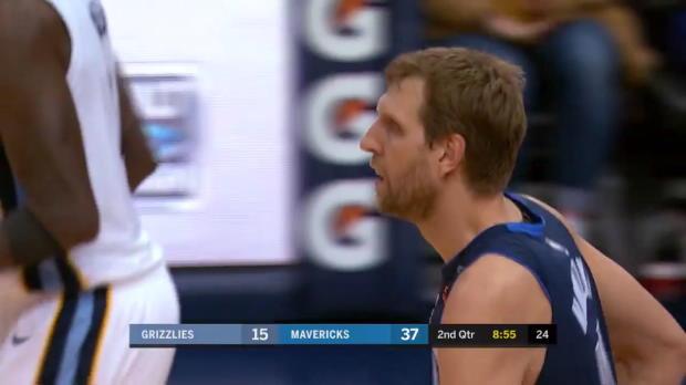 WSC: Dirk Nowitzki (2 points) Highlights vs. Memphis Grizzlies, 03/10/2018