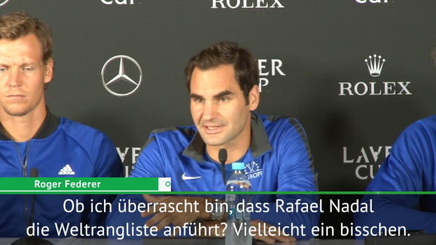 "Laver Cup: Federer: Nadal? ""Beeindruckend!"""