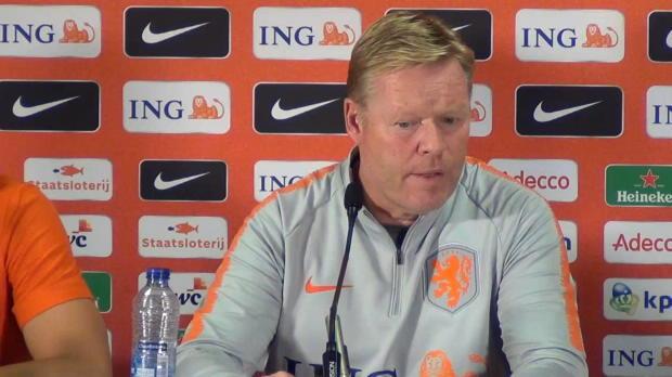 Koeman: DFB-Spiel war Van Dijks Wunsch