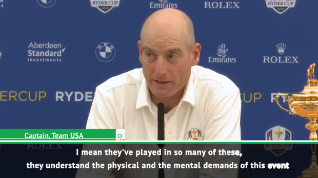 My players will be ready for marathon on unfamiliar course - Furyk