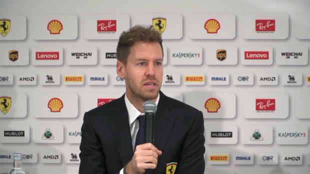 """F1: Vettel vorfreudig: """"Haben hart gearbeitet"""""""