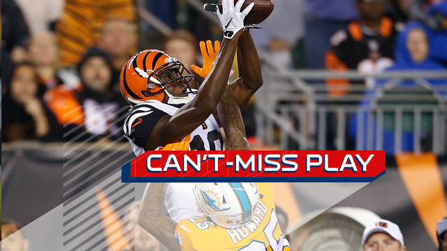 Can't-Miss Play: A.J. Green leaps for 51-yard catch over defender
