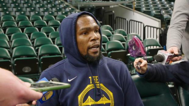 "Basket : Golden State - Durant ""très complices"" avec Curry"