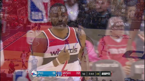 WSC: Highlights: John Wall (28 points) vs. the 76ers, 10/18/2017