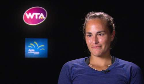 Puig Interview: WTA Sydney QF