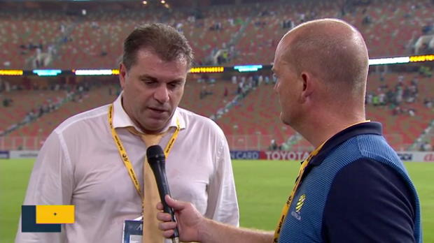 Ange reacts to draw in Saudi