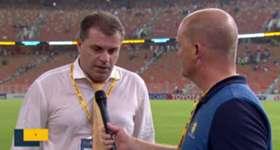 Caltex Socceroos boss Ange Postecoglou discusses Australia's 2-2 against Saudi Arabia in Jeddah.