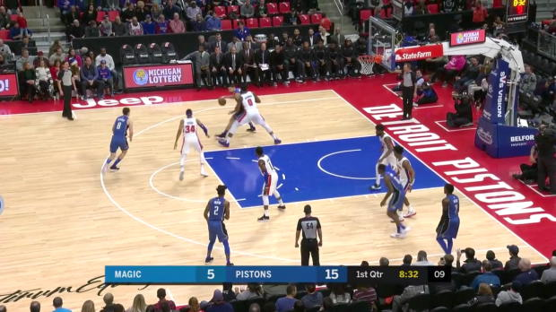 WSC: Mario Hezonja 28 points vs. Detroit
