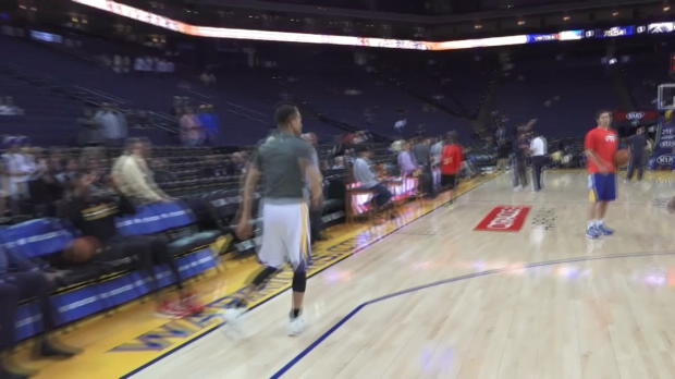 Profile: Stephen Curry's Pre-Game Routine