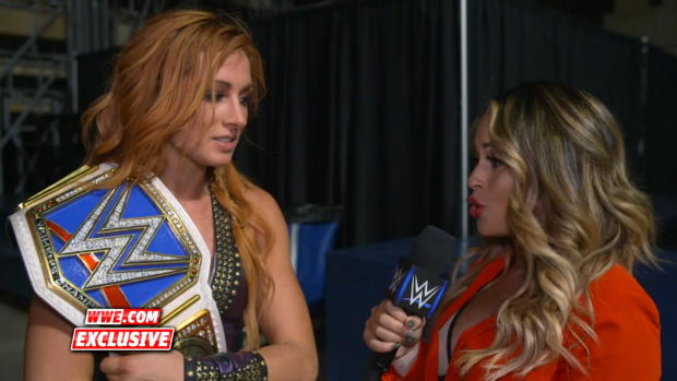 "Becky Lynch ""walks the walk"" as new SmackDown Women's Champion: WWE.com Exclusive, Sept. 16, 2018"