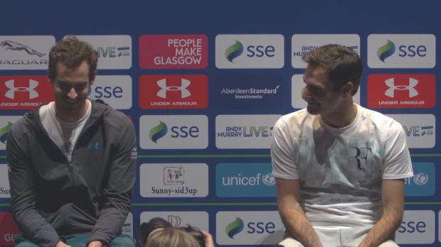 """Basket : ATP - Federer à Murray - """"Tu m'as manqué"""""""