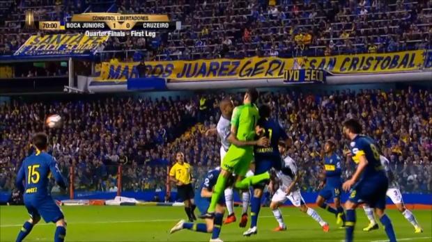 Copa Libertadores: Blutiger Torwart-Knockout