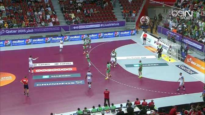 Hand : Algérie 26-32 France