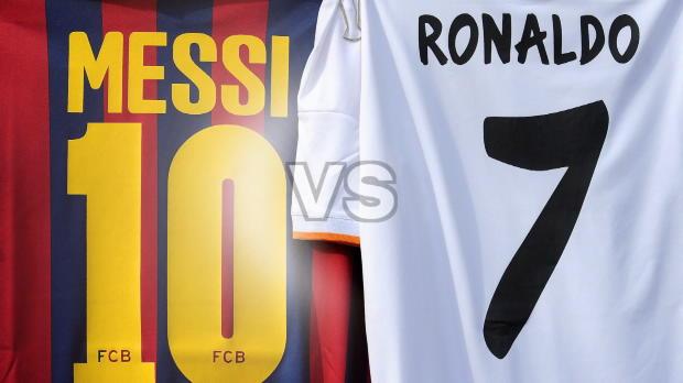 Messi vs. Ronaldo im Alter von 30 Jahren