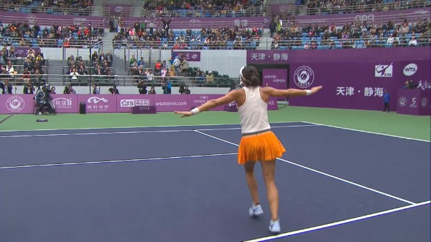 Tennis : Tianjin - Garcia triomphe en Chine