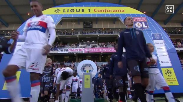 Troyes - Olympique Lyon