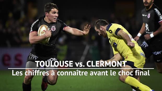 Top 14 - Finale : Stade Toulousain vs. Clermont en chiffres